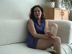 Masturbación Con La Mano De La Entrevista