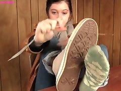 Sudorosos, Calcetines, Zapatos, Pies