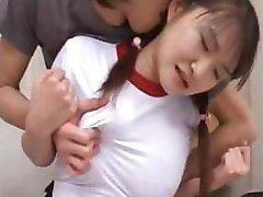 Asiático adolescente inocencia que se rompe