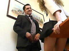 El jefe y su Secretaria