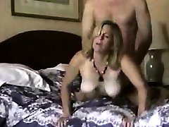 MOTHER Blonde MILF gets fucked hard