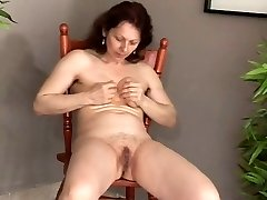 Masturbación Madura Eyaculando-daddi