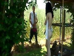 Sunny outdoor teenager shag