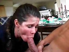 Boy Cums Too Hasty, MILF Tries To Save The Sequence