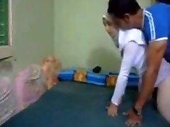 Hijab cheating arab Wife anal kapali arkadan