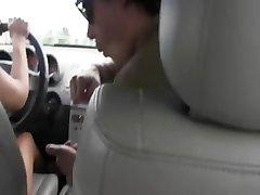 sweet babes sucking dick in car