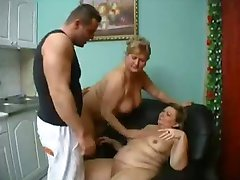 Old Mature Sluts in a Threesome