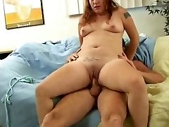 Whorey Fat Chubby Teen Ex GF loved sucking and plowing-1