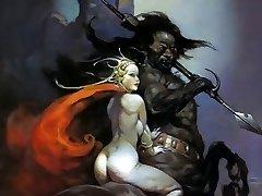Erotic Fantasy Art 3 - Frank Frazetta