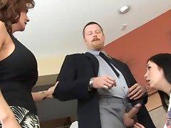 Husband and Wife Discipline Babysitter