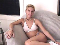 Skinny Amateur Blonde MILF Tiffany
