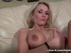 Amazing pornstar Laura Crystal in Fabulous Blonde, MILF porn video