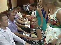 gekke bruiloft 'blowjob' wedstrijd spel