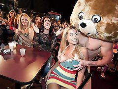 Pretty Faces Get Porked By The Dancing Grizzly