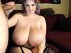 Misti Love Bouncing Her Big Natural Boobs Riding A Big Man Meat