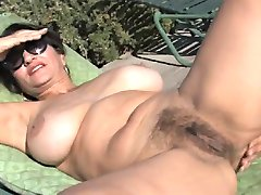 Fabulous Milf Persia Stripping By TROC