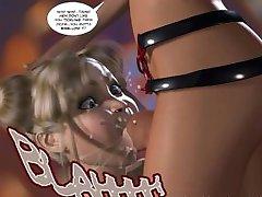 3D Comic: The Nymph. Episode 1