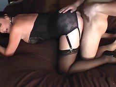 Milf in beautiful lingerie