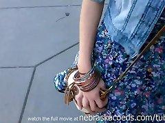 uimitor blonda fierbinte prietena filmat de fostul iubit
