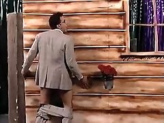 guy get sucked by surprise in gloryhole and gets caught in live