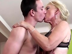 NastyPlace.org - Old grandma plays with young guy