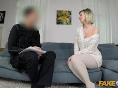 Fake Cop Sexy single MILF seduces uniformed policeman