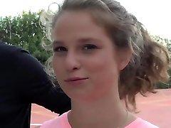 adolescentes Adolescentes lindo Hardcore Conejito folla para Olimpia