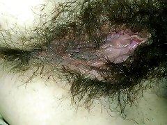 Hairy Vag & Booty
