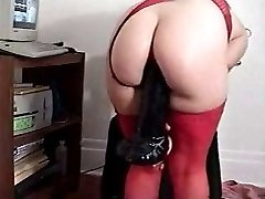 Mature ORAL JOB toying with toys
