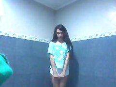 I�m stripping in my bathroom