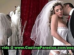 Kayla Paige wonderful busty bride