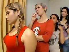 Caliente besos Profundos Chicas brasileñas parte 1