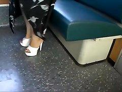 Platform Mules In A Suburban Teach