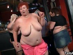 Quente bbw festa no bar