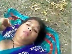 Bangladeshi maid outdoor hook-up with neighbor