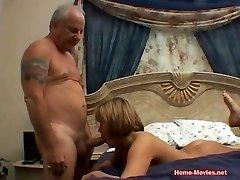 Cuckold Horny Chick Nailed By Senior Rich Guy
