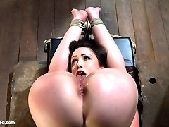 Welcome back Jennifer White to Hogtied. Girls are not made any hotter or sexier than this. 