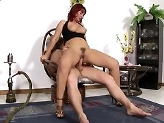 highly sexy mature red hair assfucked