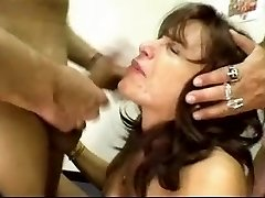 Mature mass ejaculation