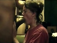 housewife lady bbc deep blowjob