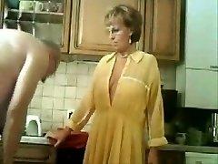 Stolen vid of my parents in the kitchen
