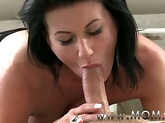 MOMMY Mature MILF takes charge of her stud