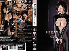 Amazing Japanese chick Aimi Yoshikawa in Best gangbang, latex JAV clip