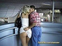 Train fuckin' with nasty wife