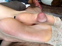 Japanese feet wank