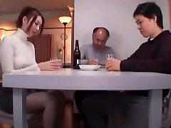 Exotic Chinese lady Yui Tatsumi in Crazy Foot Job/Ashifechi, Oldie JAV movie