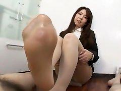 Exotic Japanese biotch Reiko Higuchi in Finest JAV clip