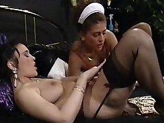 A fine Maid meets her Mistress Lesbian Desires