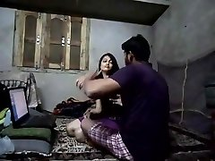 Desi hot babe homemade passionate fuck with facial cumshot
