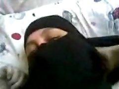 arabské egyptské ženy s nikáb